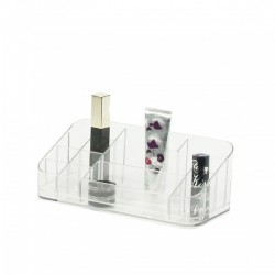 Organisateur de maquillage transparents grand modele