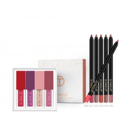 Kit maquillage lèvre 10 pcs O.TWO.O