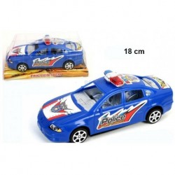 VOITURE POLICE FRICTION 18 CM