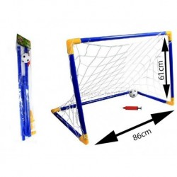 CAGE DE FOOTBALL 85 x 55 cm + ballon + pompe