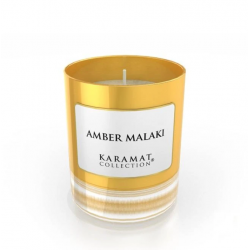 Bougie Parfumée Amber Malaki - Karamat Collection