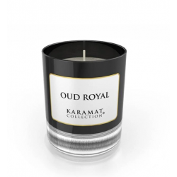 Bougie Parfumée Oud Royal - Karamat Collection