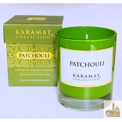 Bougie Parfumée Patchouli - Karamat Collection